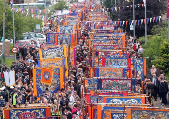 Record number of banners in Kesh