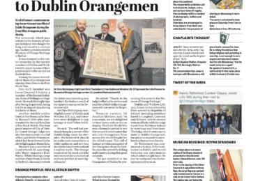 Lodge Life & Dublin Memorial